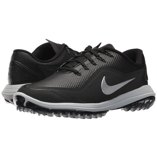 Nike Golf Lunar Control Vapor 2 (Black/Metallic Silver/Pure Platinum).