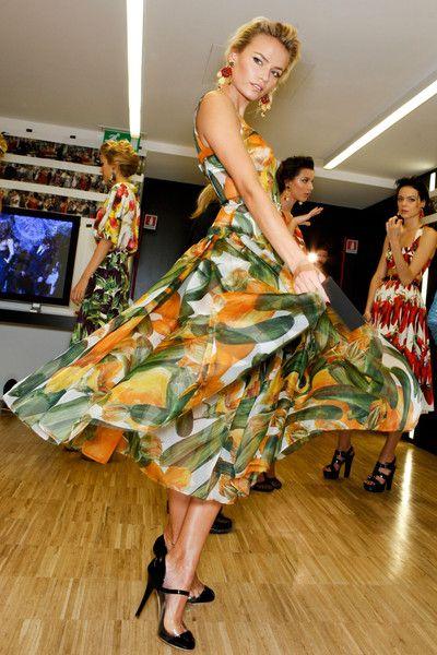 Dolce & Gabbana Spring 2012 - Backstage