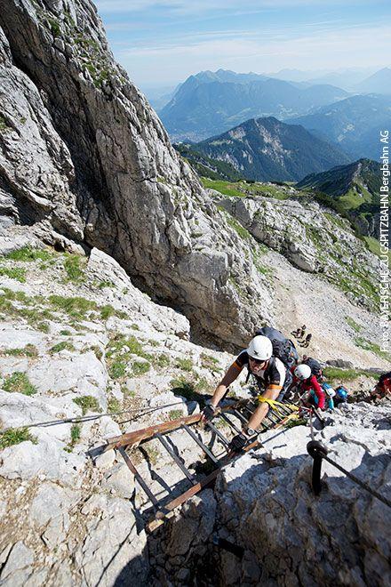 Klettersteig Anfänger - Alpspitz Klettersteig | Foto: BAYERISCHE ZUGSPITZBAHN Bergbahn AG
