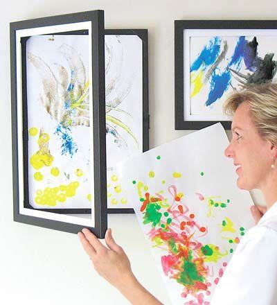 Mostramos y renovamos la muestra de arte de nuestros pequeños / Kid's art work