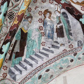 Jungfru Marias tempelgång - Härkeberga kyrka