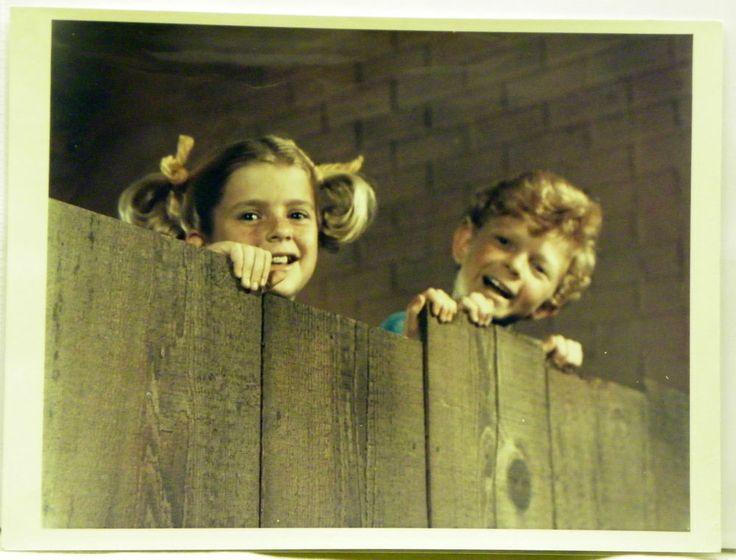 1966-1971 7x9 Family Affair Color Press Photo of Johnny Whitaker Anissa Jones