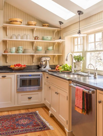 Google+ Melrose Graham Kitchen - Traditional - Kitchen - boston - by Heartwood Kitchens Houzz Kitchen of the Week April 8, 2016. Kitchen renovation for Victorian home north of Boston. Designed by north shore kitchen showroom Heartwood Kitchens.