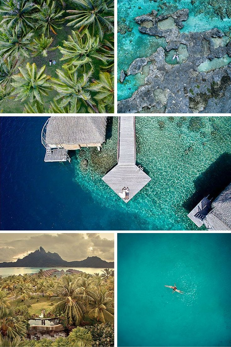 If you're looking for something a little more exciting for your big day, this new wedding photography trend might be just the thing.  Tahiti-based photographer Helene Harvard is now offering her clients the option of drone photography – meaning wedding photos taken from way up above by a drone.