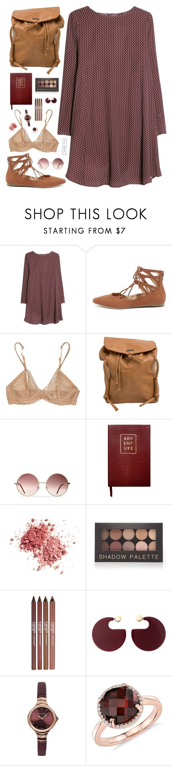"""Senza titolo #559"" by elly3 ❤ liked on Polyvore featuring MANGO, Liliana, La Perla, Roxy, Sloane Stationery, Forever 21, CARGO, Marni, Emporio Armani and Blue Nile"