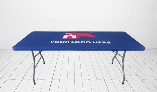 Make your Displays Attractive and Appealing with Custom Designed Table Toppers from BannerBuzz.Table topper cover: an easy step to become professional!