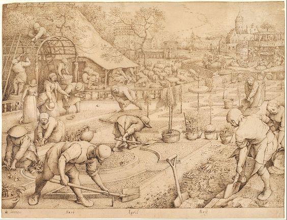 Pieter Bruegel the Elder - Spring - 1565: