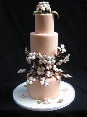 dogwood cake: Cakes Ideas, Beautiful Cakesnajlepš, Amazing Cakes Cupcakes5, Cakes Decor, Cakes Pastel, Wedding Cakes, Color Cakes, Amazing Cakescupcakes5, Beautiful Cakes Najlepš