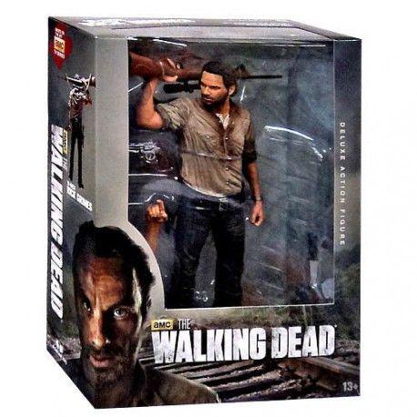 Figura Deluxe Rick Grimes #TheWalkingDead. 25cm. Precio: 39,08€. Descubre más merchandising barato de tus series preferidas.