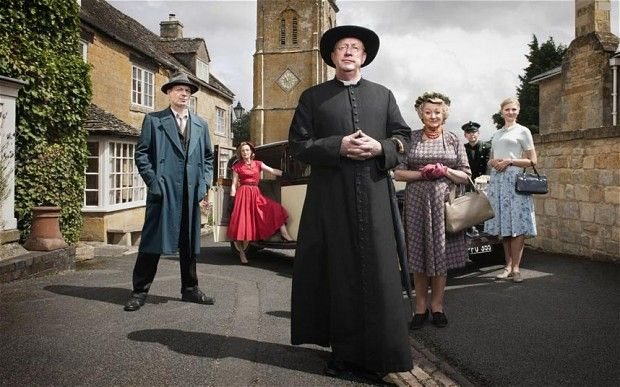 Mark Williams as Father Brown in the new BBC series