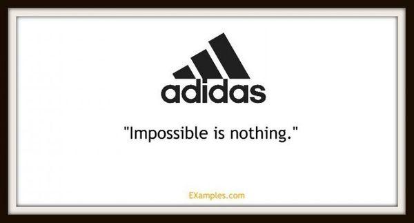 New Adidas slogan. : LifeofBoris