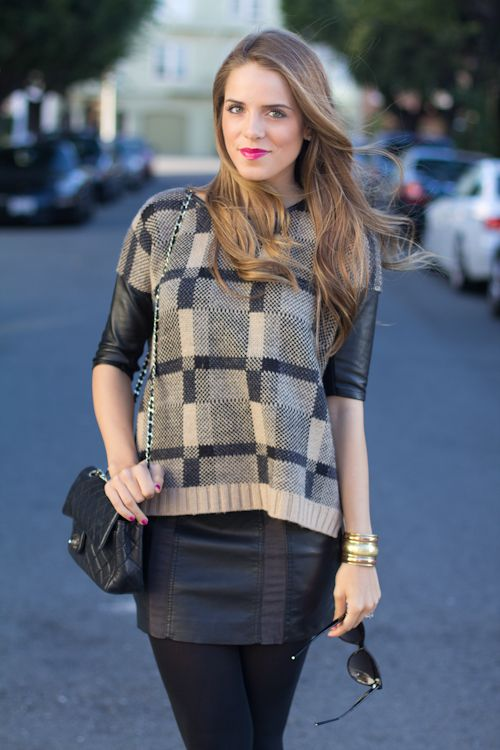 @Julia Engel from Gal Meets Glam in the Paolina Sweater! #youboughtit