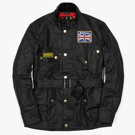 Куртка Barbour International Union Jack Black в FOTT Shop