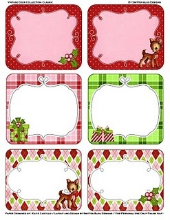 172 best tiquettes images on pinterest printable labels free etiquetas classic christmas party kit includes 6 gift tags 2 bag toppers 1 party banner and a sheet of 2 notecards negle Gallery