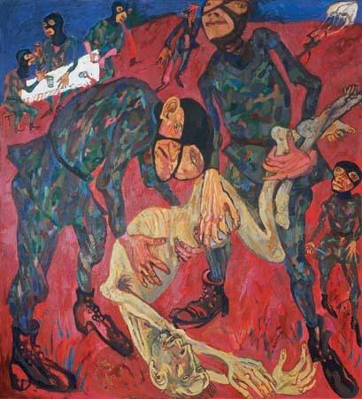 Maxim Kantor - Requiem for terrorist (2002)