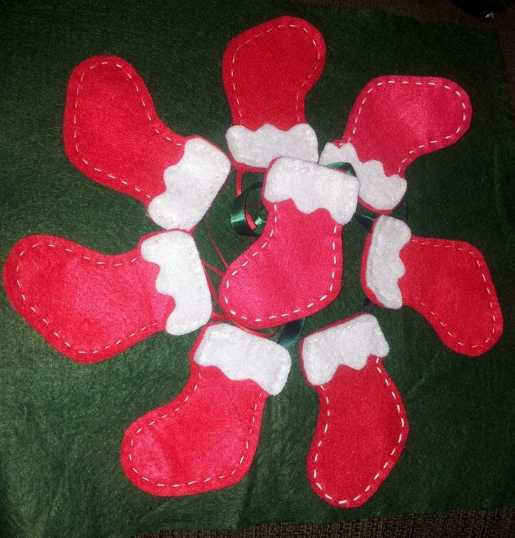 small stocking hanging decorations x
