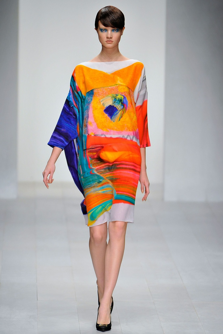 Antoni & Alison #dress #prints #color