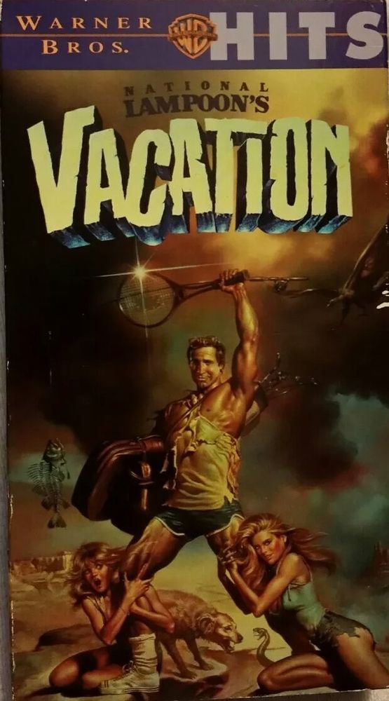 National Lampoons Vacation (VHS, 1999) Chevy Chase ***FREE SHIPPING***