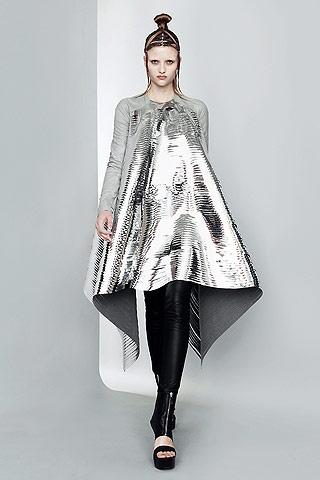 Future Girl, Futuristic Clothing, Future Fashion, Silver, Futuristic Style,  gareth pugh