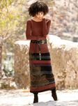 Additional view of Gingerlily Pima Cotton Skirt