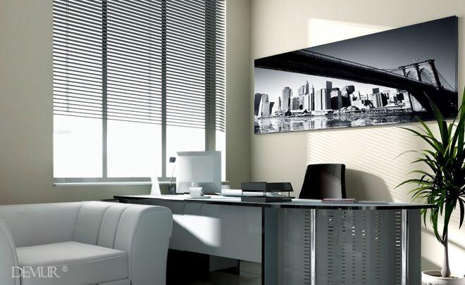 Biuro z widokiem na Manhattan