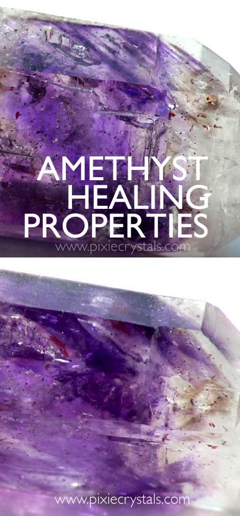 AMETHYST CRYSTAL PROPERTIES: Develops psychic abilities - Calming - Connection to Angelic Realms - Grief and pain relief - Yin........   Article and photography by me: Loren Warn - www.pixiecrystals.com - ... Mainly for the Third eye and Crown chakras, but helpful to all chakra's, Amethyst will send soothing lilac waves to any distressed being / cell. It is one of the best minerals in the world, along with Malachite, for physical pain relief from any area...  See more...