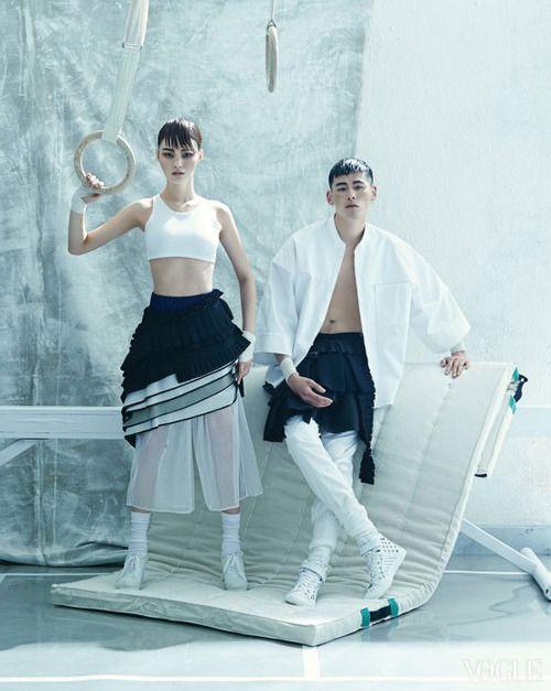 """""""Floor Action"""" Vogue Korea 2014"""