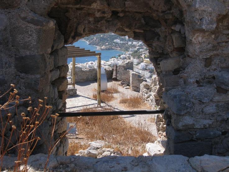 Pendeli Castle, Leros, Greece