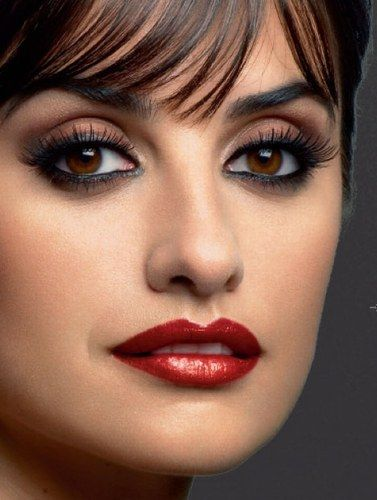 Penelope Cruz always luv her makeup