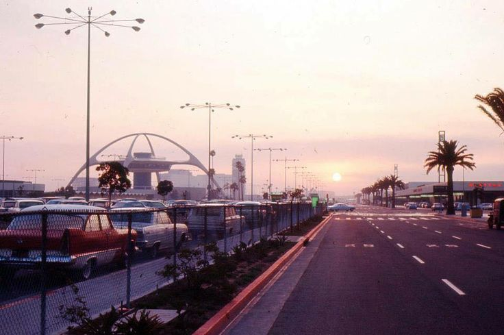 LAX Airport, Los Angeles, CA, 1964
