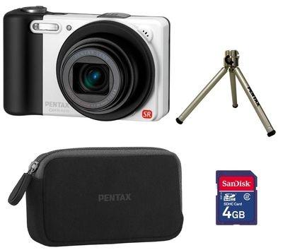 Diese kompakte Digitalkamera verfügt über einen stabilisierten Sensor mit 14,1 Megapixeln und einem optischen 10fach Zoom. Des Weiteren findet sich eine Weitwinkel-Brennweite von 28 mm, um auch mit wenig Abstand alles aufs Foto zu bekommen.