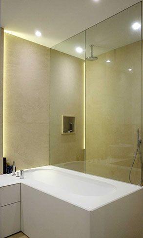 Oltre 25 fantastiche idee su pareti per doccia su pinterest progettazione mattonelle doccia - Pareti doccia su misura ...