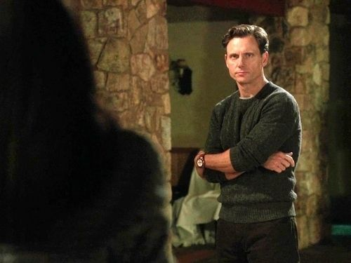 He looks like this in a green cable knit sweater. | Community Post: 16 Reasons We Love Fitzgerald Grant III