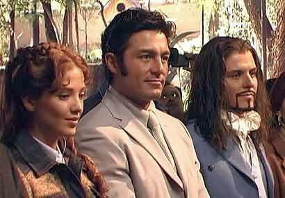 Adela Noriega, Fernando Colunga y Ernesto Laguardia - Amor Real 2003