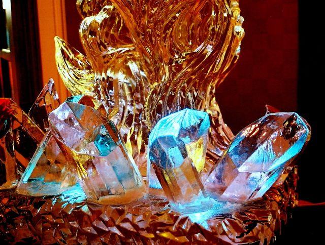 ice sculptures, ice sculpture of fire and ice | Ice & Snow ... Prom Themes Fire And Ice