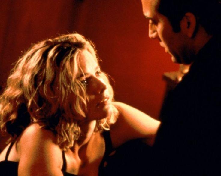 """Elisabeth Shue y Nicolas Cage en """"Leaving Las Vegas"""", 1995"""