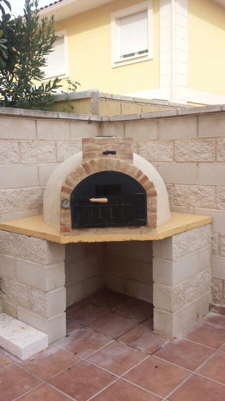 532 mejores im genes sobre parrillas asadores bar y cocina en el patio en pinterest fogatas - Hornos para casa ...