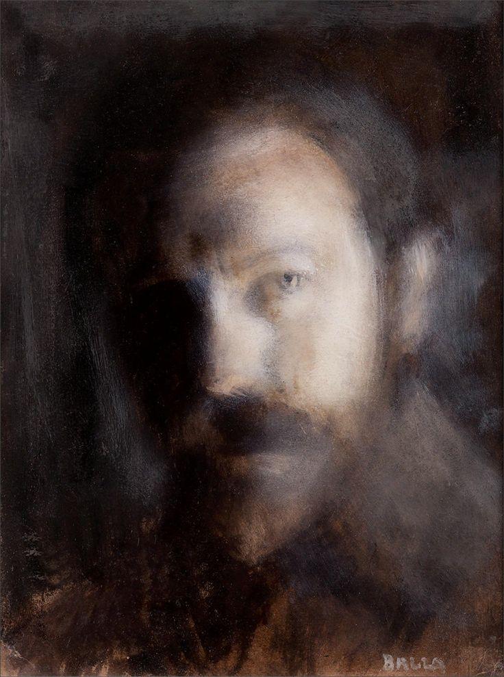 Giacomo Balla · Autoritratto notturno · 1909 · Ubicazione ignota