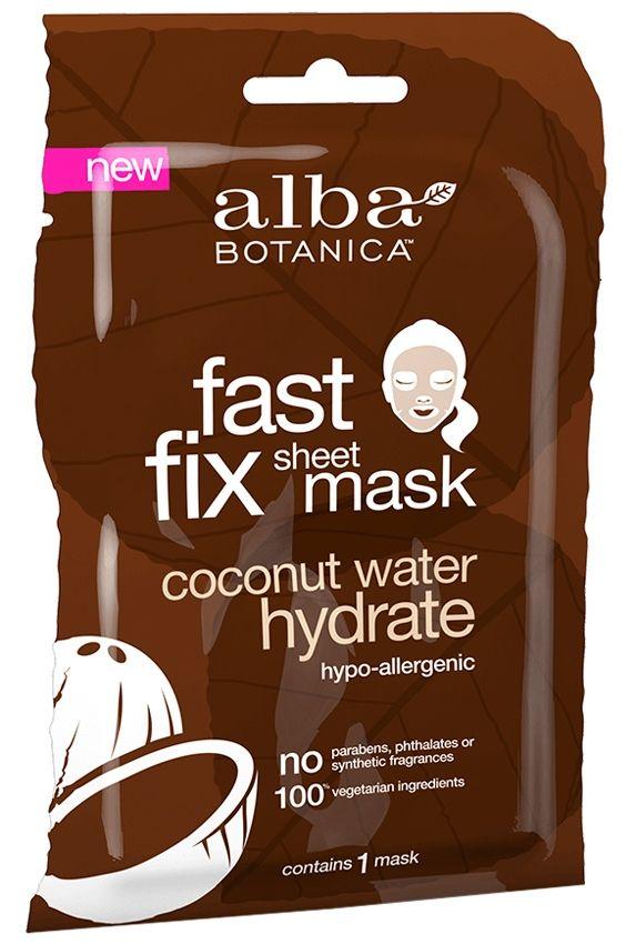 Alba Botanica Fast Fix Sheet Mask - Coconut Water Hydrate