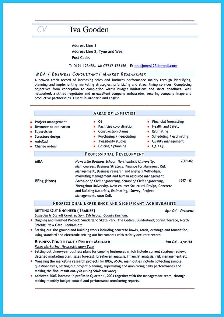37 best ZM Sample Resumes images on Pinterest Sample resume - civil engineering resume example