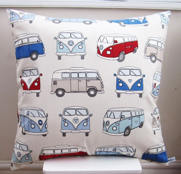 Camper Van Cushion - £20