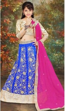 Blue Color Net Girl's Readymade Lehenga Choli | FH488875101 #girls , #kids , #readymade , #lehenga , #babys , #teenagers , #wedding , #fashion , #boutique , #shopping , #style #heenastyle , #clothing , #dresses , @heenastyle , #online , #asian , #indian .