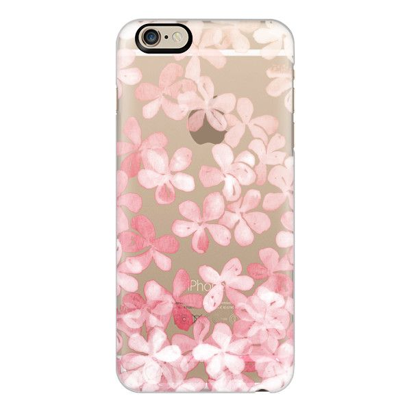 iPhone 6 Plus/6/5/5s/5c Case - Spring Blossoms - pastel pink & cream... ($40) ❤ liked on Polyvore featuring accessories, tech accessories, phone cases, phone, tech, capas de iphone, iphone case, vista print iphone case, flower iphone 6 case and transparent iphone case