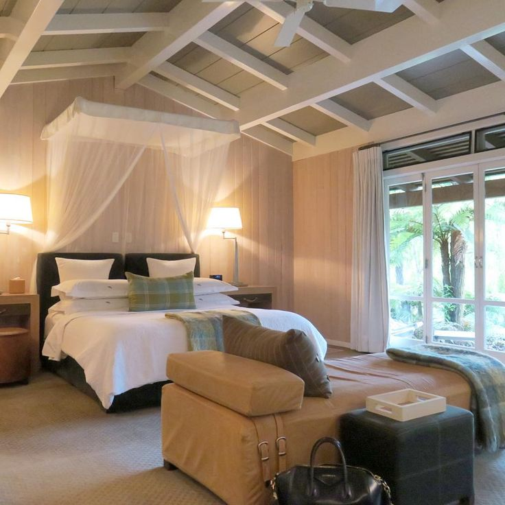 Junior Suite At Huka Lodge Taupo New Zealand
