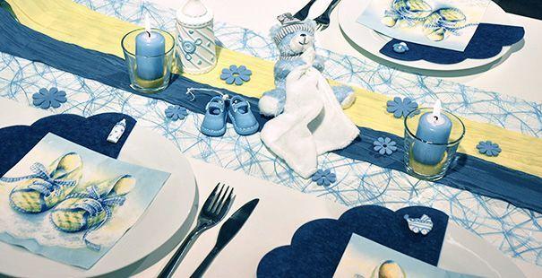 17 best images about tischdeko taufe on pinterest vase babies and parties - Tischdeko taufe modern ...