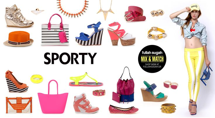 Mix & Match | Sporty | http://fullahsugah.gr/ #MixAndMatch #FullahSugah