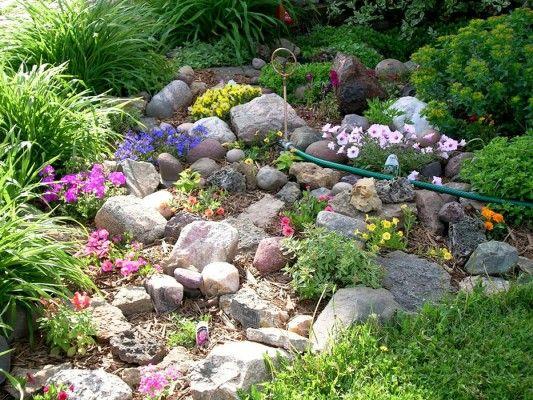Jardines rusticos peque os dise o de interiores for Jardin rustico pequeno