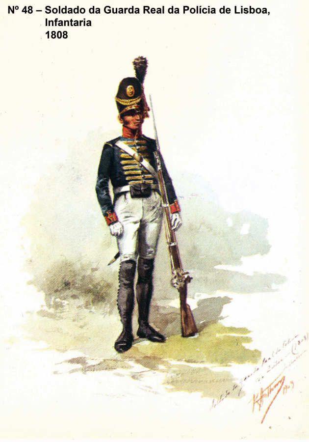 Guarda Real da Policia de Lisboa (infantaria) 1808