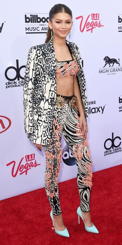 See All the Hottest Looks from the 2015 Billboard Music Awards - Zendaya from #InStyle