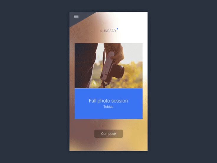 Mobile Interactions of the week #2 — Medium